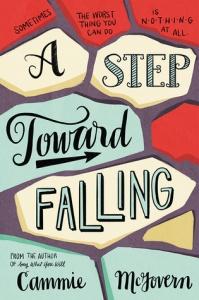 step toward falling